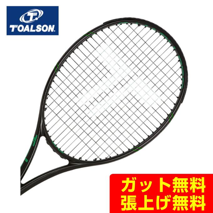 【5/5限定 500円OFFクーポン発行中】トアルソン(Toalson) エスマッハプロ295 (S-MACH PRO 295) 1DR8150G ブラックグリーン 2019年モデル 硬式テニスラケット