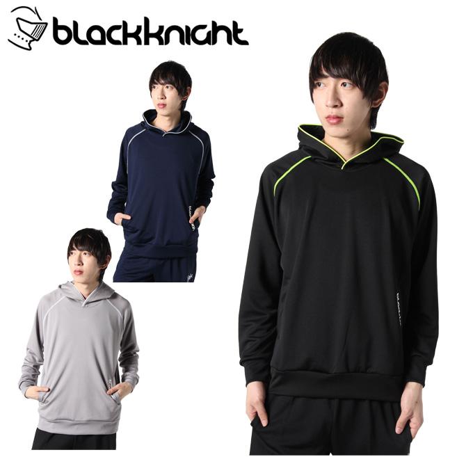 ブラック ナイト 黒 knight テニスウェア スウェットパーカー メンズ T-9430 rkt