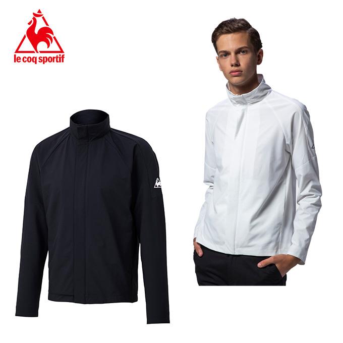 ルコック(Lecoq) テニス オールラウンドジャケット QTMPJC20 ブラック(BLK) ホワイト(WHT) テニスウェア スポーツウェア メンズ アウター 2020年モデル