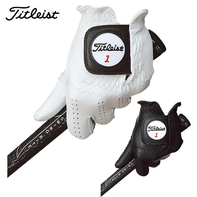 【購入後レビュー記入でクーポンプレゼント中】 タイトリスト TITLEIST ゴルフ グローブ メンズ 左手 プロフェッショナル TG77