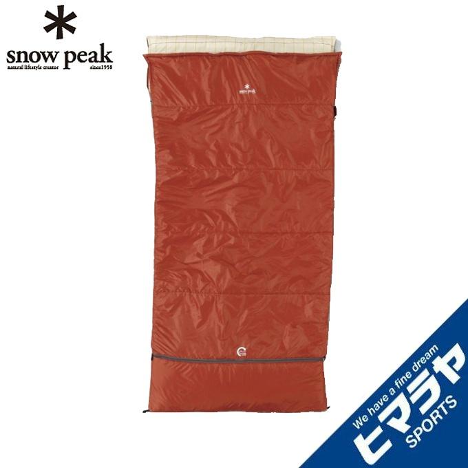 スノーピーク snow peak 封筒型シュラフ セパレートシュラフ オフトンワイド BD-103
