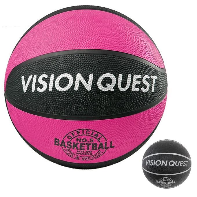 購入後レビュー記入でクーポンプレゼント中 即納 バスケットボール 5号球 バスケゴムボール VQ5BAR 正規逆輸入品 QUEST 屋外用 VISION ビジョンクエスト