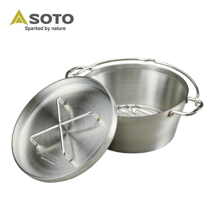 ソト SOTO ダッチオーブン ステンレスダッチオーブン10インチ ST-910