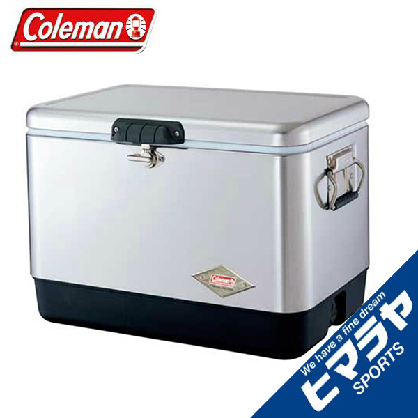 コールマン クーラーボックス 54QT スチールベルト クーラー シルバー 3000001343 Coleman