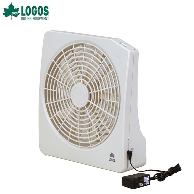 ロゴス 扇風機 2電源 どこでも扇風機 AC 電池 81336702