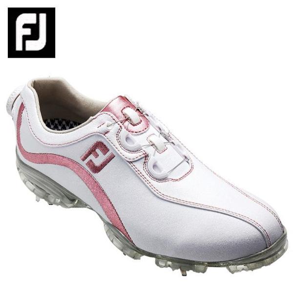フットジョイ FootJoyゴルフシューズ ソフトスパイク ゴルフスパイク レディースFJ ReelFit WH/PK93833