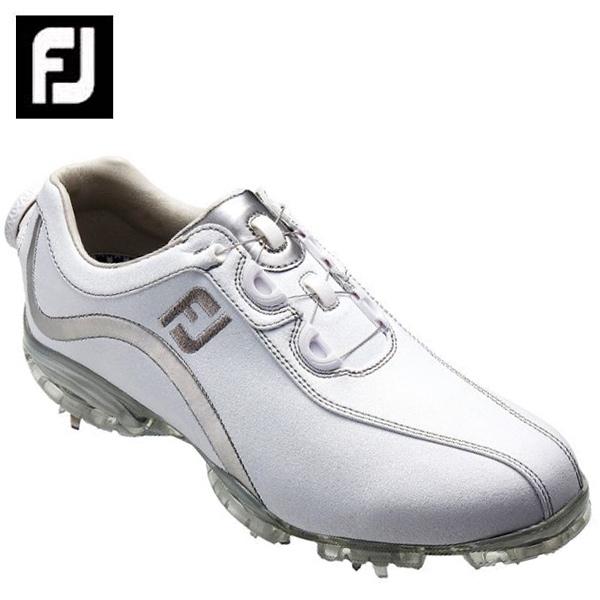 フットジョイ FootJoyゴルフシューズ ソフトスパイク ゴルフスパイク レディースFJ ReelFit WH/SL93809