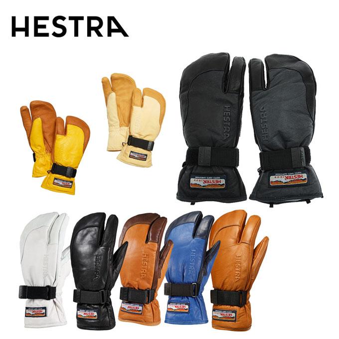 ヘストラ スキーグローブ メンズ レディース 3フィンガー 3FINGER FULL LEATHER 30872 HESTRA ミトン