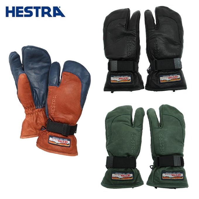 ヘストラ スキーグローブ メンズ レディース 3フィンガー ゴアテックス 3FINGER GTX FULL LEATHER 33882 HESTRA