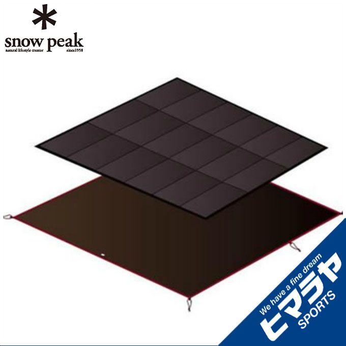 スノーピーク snow peak インナーマット アメニティドームLマットシートセット SET-121