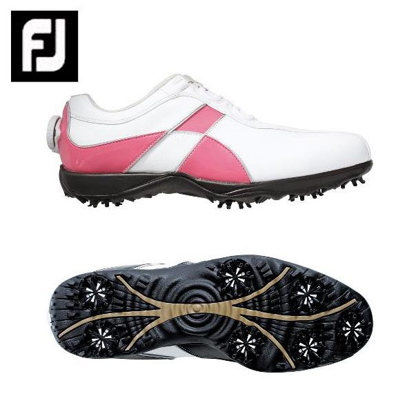 フットジョイ Foot Joyゴルフシューズ ソフトスパイク ゴルフスパイク レディースeComfort Boa98662