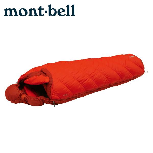 【クーポン利用で2,000円引 7/29 0:00~8/1 23:59】 モンベル マミー型シュラフ バロウバッグ #1 OG 1121271 mont bell mont-bell