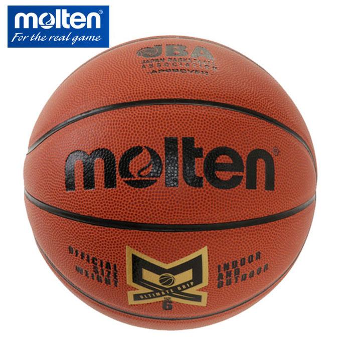 購入後レビュー記入でクーポンプレゼント中 モルテン 期間限定今なら送料無料 送料0円 バスケットボール 6号球 人工皮革バスケット検定球 MX6NDXH molten