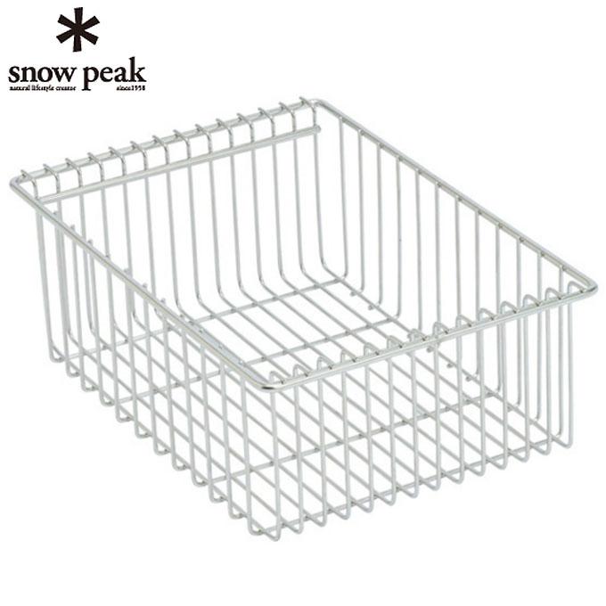 スノーピーク snow peak テーブルアクセサリー メッシュトレー 1unit 深型 CK-225