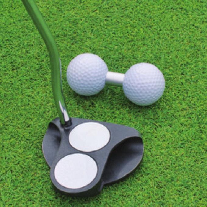 購入後レビュー記入でクーポンプレゼント中 ライト LITE ゴルフ 練習用 練習器具 ダブルパッティングボール 練習器 18%OFF 限定品 G171