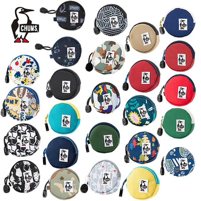 最新 購入後レビュー記入でクーポンプレゼント中 おすすめ チャムス CHUMS コインケース メンズ レディース CH60-0854 エコラウンドコインケース Eco Round Coin Case