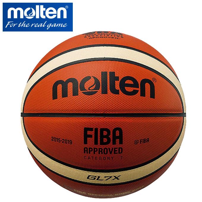GL7X モルテン 【あす楽対応】 /[自社/] 【molten】 【送料無料】 バスケットボール7号球 【検定球//インカレ公式試合球//FIBA公式試合球//ネーム加工できません】 【最大500円クーポン有】 2018年継続モデル! 【メール便不可】