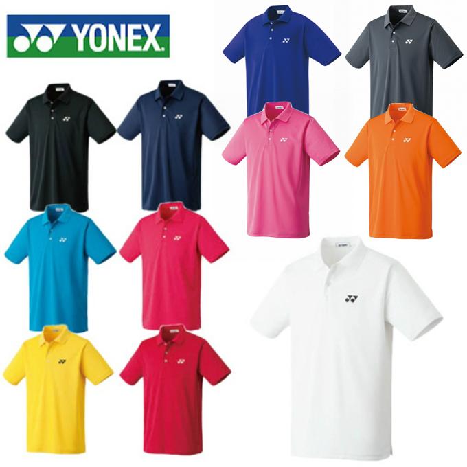 ヨネックス テニスウェア バドミントンウェア ゲームシャツ メンズ レディース ポロシャツ 10300 YONEX 日本バドミントン協会審査合格品