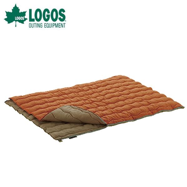 【エントリーで14倍 8/10~8/11まで】 ロゴス 封筒型シュラフ 2in1 Wサイズ丸洗い寝袋・2 72600680 LOGOS