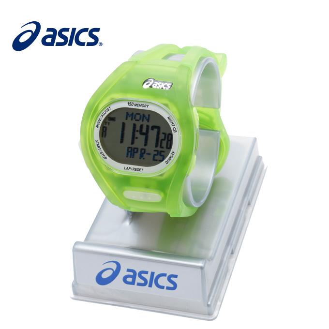 【5/5はクーポンで1000円引&エントリーかつカード利用で5倍】 アシックス ランニングアクセサリー 腕時計 ナイトランウォッチランニングウォッチGR CQAR0801 asics