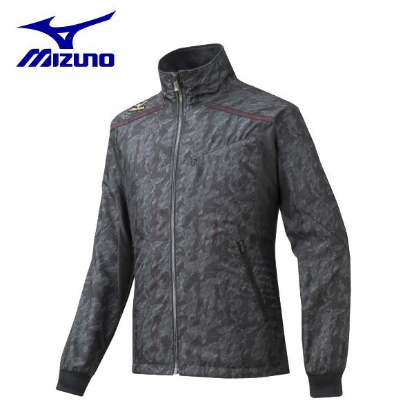 ミズノ mizunoウィンドブレーカーシャツ12JE5W9096野球ウェア メンズ
