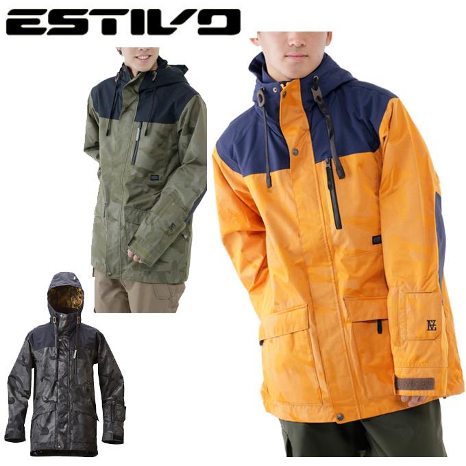 エスティボ ESTIVOスノーボードジャケット メンズEV HUNTER JKTEVM1508