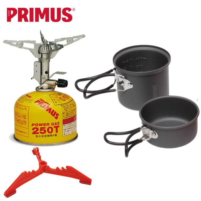 プリムス PRIMUS スターターボックスIII ウルトラバーナー カートリッジホルダー レッド ライテックトレックケトル&パン ハイパワーガス P-STB3