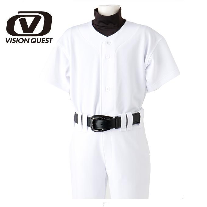 購入後レビュー記入でクーポンプレゼント中 野球 ウエア 練習着 訳あり シャツ ユニフォームシャツ ジュニア VISION ビジョンクエスト VQ550301F04 QUEST 驚きの値段で