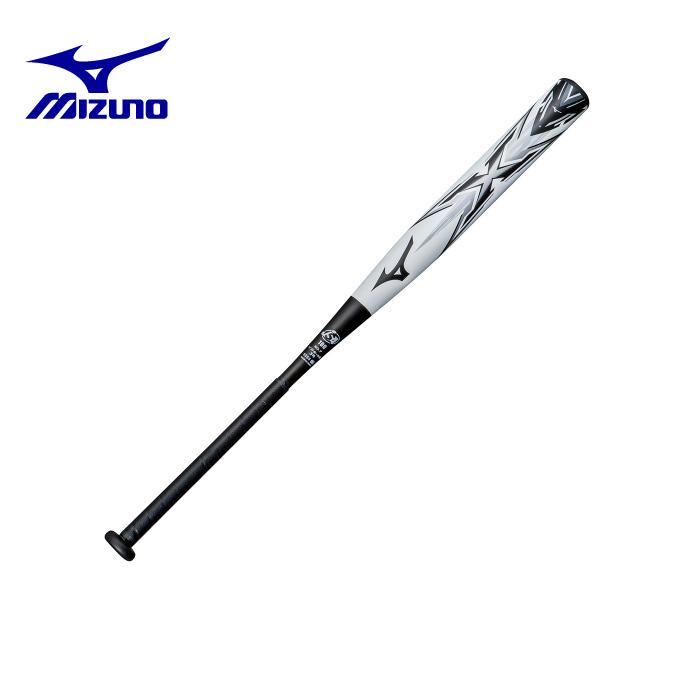 ミズノ MIZUNOソフトボールバット3号用ソフトボール用 エックス 反発規制対応モデル FRP製/3号用1CJFS10485