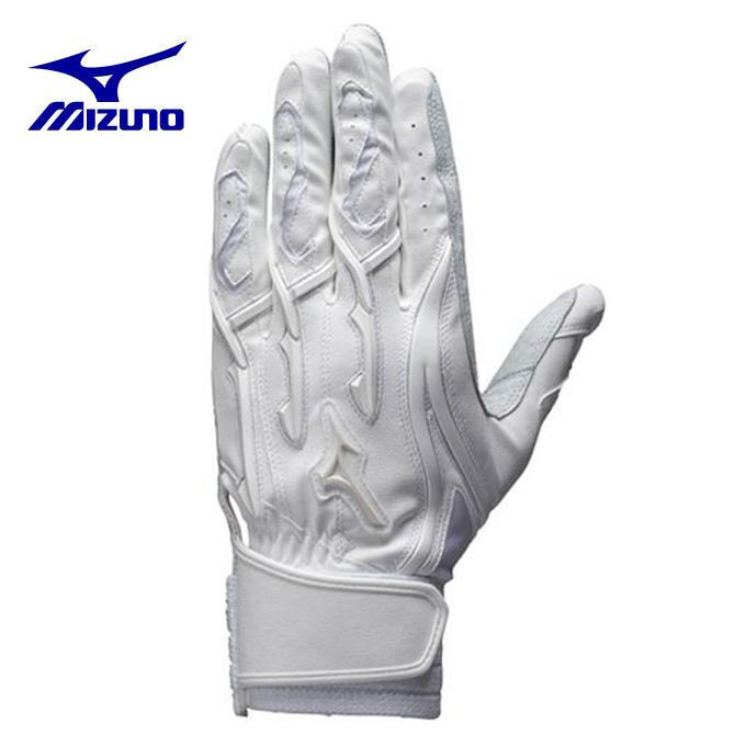 ミズノ MIZUNO 野球 バッティンググローブ 両手用 メンズ ミズノプロ シリコンパワーアークMI 高校野球対応 1EJEH131