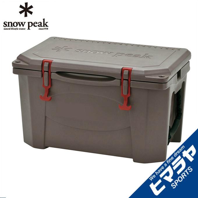 スノーピーク snow peak クーラーボックス ハードロッククーラー 40QT UG-302GY