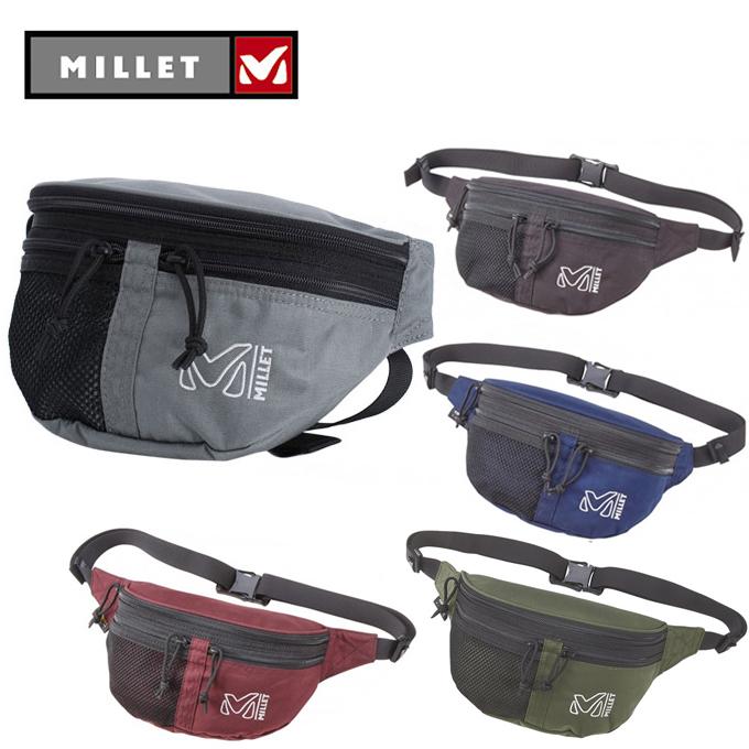 購入後レビュー記入でクーポンプレゼント中 出荷 ミレー MILLET ウエストバッグ メンズ キリバチ MIS0551 メーカー再生品 レディース