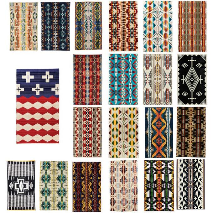 ペンドルトン PENDLETON タオル ジャガードバスタオルオーバーサイズ XB233 19373185