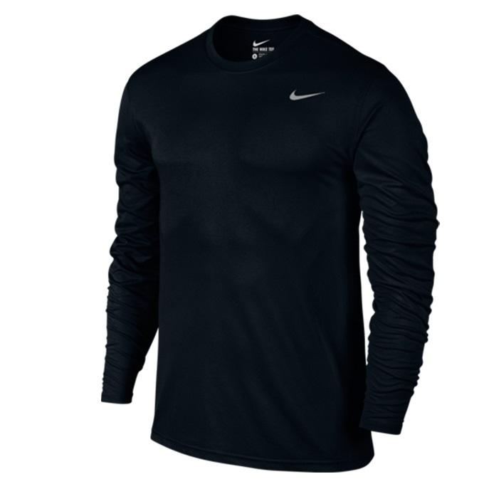 購入後レビュー記入でクーポンプレゼント中 ナイキ スポーツウェア 長袖Tシャツ メンズ DRI-FIT 登場大人気アイテム NIKE L レジェンド 718838-010 Tシャツ 国内在庫 S