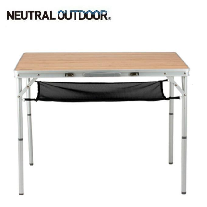 ニュートラルアウトドア アウトドアテーブル 90cm バンブーテーブル L NT-BT01 NEUTRAL OUTDOOR