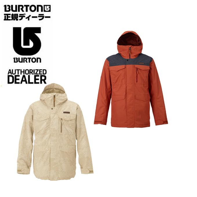 バートン BURTON ボードジャケット メンズ Covert Jacket コバート ジャケット 13065102