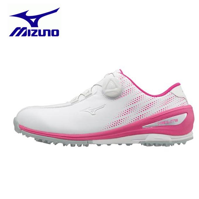 ミズノ MIZUNO ゴルフ スパイクレス レディース ネクスライト004ボア EEE 51GW172064