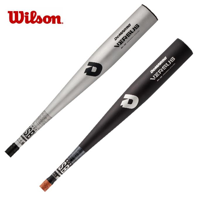 【クーポン利用で1,000円引 7/29 0:00~8/1 23:59】 ウイルソン Wilson野球 軟式バット 一般ディマリニ・ヴァーサスWTDXJRQVS