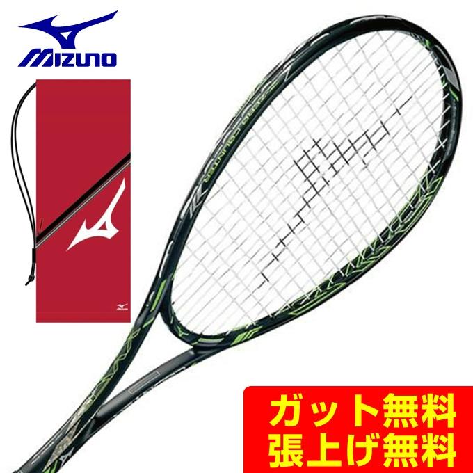 ミズノ ソフトテニスラケット 後衛 ジスト Zゼロカウンター 63JTN73009 mizuno