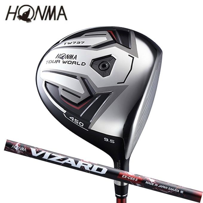 本間ゴルフ HONMA ゴルフクラブ 単品 ドライバー メンズ ツアーワールド TW737 450 ( VIZARD EX-C 65 ) TOUR WORLD TW737 450
