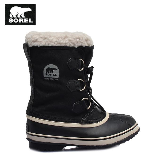 ソレル SOREL スノーブーツ 冬靴 ジュニア ユートパックナイロン NY1879 010