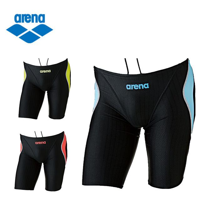 アリーナ arena 競泳水着 男の子 ジュニア ハーフスパッツ ARN-7052MJ スイムウェア 水着