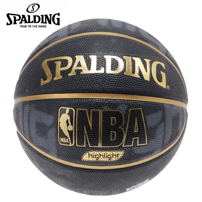 購入後レビュー記入でクーポンプレゼント中 スポルディング バスケットボール 5号球 屋外用 バーゲンセール SPALDING ゴールドハイライト 全国一律送料無料 83-362J