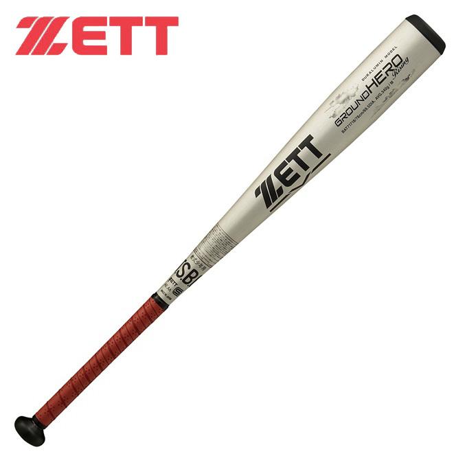 ゼット ZETT野球 少年軟式バット ジュニア バットグランドヒーローライジングBAT71718