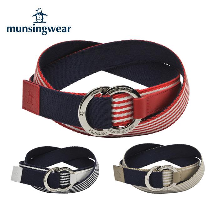 マンシング Munsingwear ゴルフ レディース 丸バックルベルト JALJ604