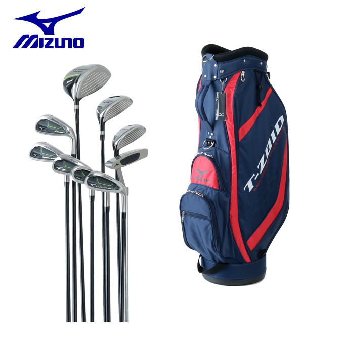 ミズノ MIZUNO ゴルフ セットクラブ メンズ T‐ZOID PLUS Set 5KJBS15327+C/Bag Set