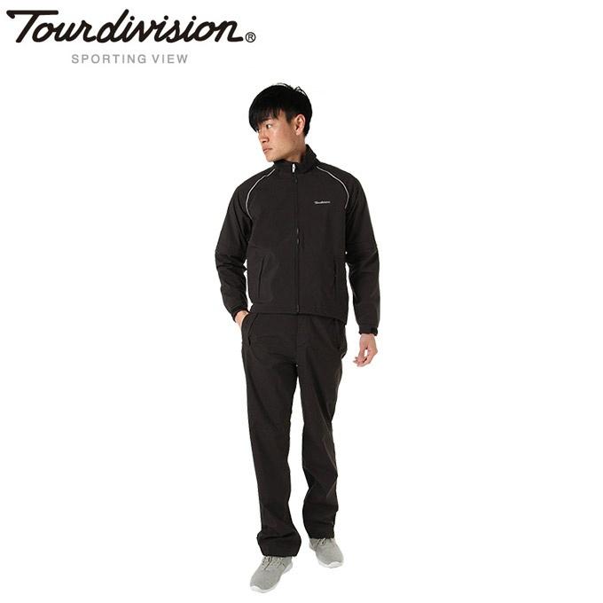 ツアーディビジョン Tour division ゴルフ レインウェア上下セット メンズ レインスーツ TD220503G01
