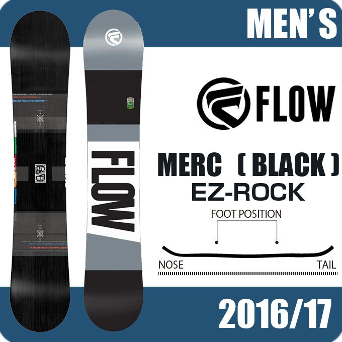 フロー FLOW スノーボード板 メンズ MERC BLACK