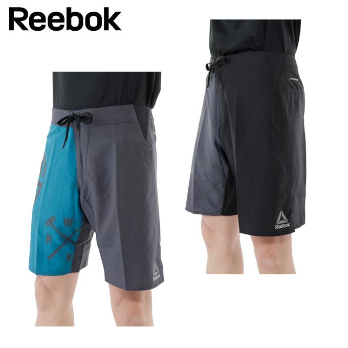 ボードショーツ 【Reebok】 ショートパンツ ワンシリーズ スプラッター グラフィック サーフ リーボック