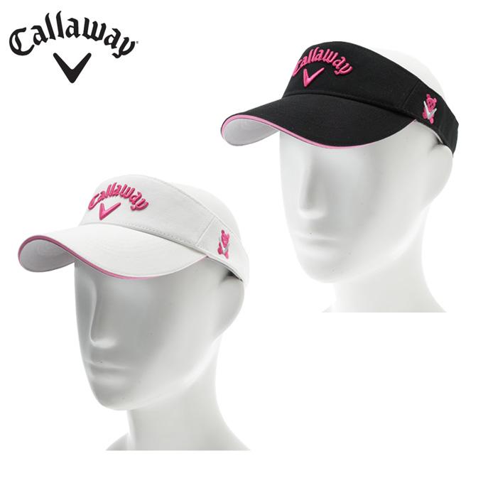 キャロウェイ Callaway  ゴルフ レディース ベアベーシックバイザー 247-7990800